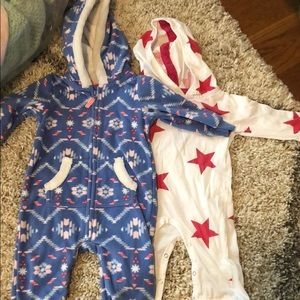 3 and 6 Month play suit set